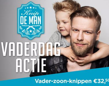 Vader-zoon knippen aanbieding!