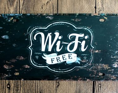 Free WIFI in onze herenkapsalon!