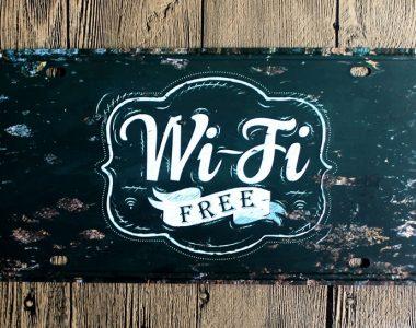 Free WIFI in onze herenkapsalon!
