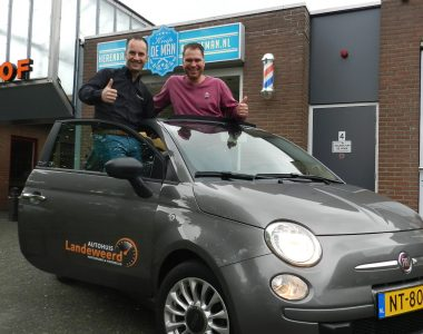 Win weekend touren Fiat Cabrio