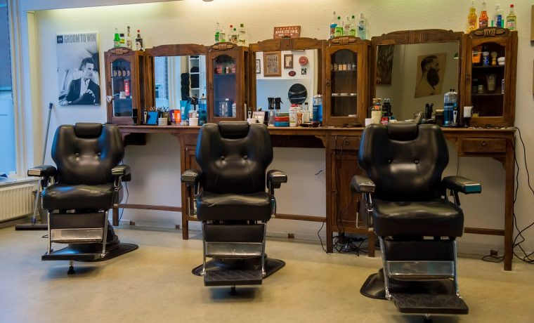 Interieur in barbershop stijl knipdeman for Kappersinterieur